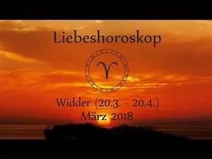 März Sternzeichen Widder : horoskop sternzeichen widder liebe und leben im m rz 2018 youtube ~ Indierocktalk.com Haus und Dekorationen