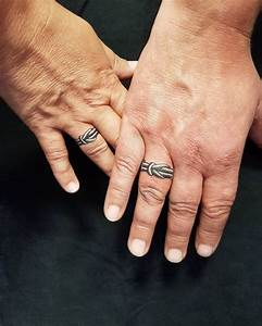 wedding ring tattoo ideas amazing designs for couples With 3d wedding ring tattoos