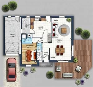 maisons depreux simple maison maison la chaume vende With superb plans de maison moderne 0 maison cubique jeu de volumes et couleurs vannes depreux