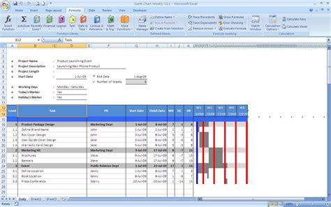 excel chart templates gantt chart excel templates