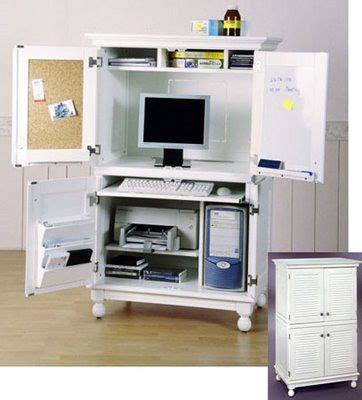 Office Armoire Ikea by Computer Armoire Computer Desk Home Diy Ideas