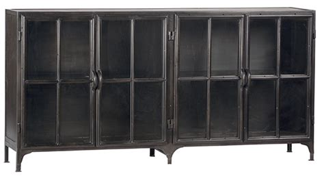 Metal Sideboards by Black Metal Industrial Style Sideboard Buffet Tv Console