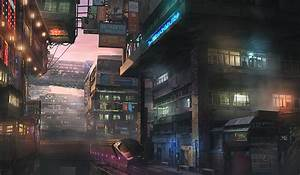 cityscape, train, futuristic :: Wallpapers
