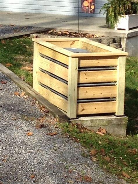 outdoor trash  holder  skippy  lumberjockscom