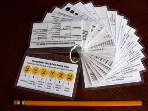 nurse bling handy pocket reference cards  nursing
