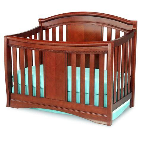 baby crib delta children elite 4 in 1 convertible crib cabernet