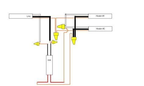 solved electric baseboard thermostat wiring fixya