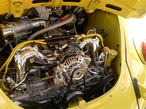 subaru boxer engine in vw beetle motor subaru kaefer motor subaru pinterest subaru