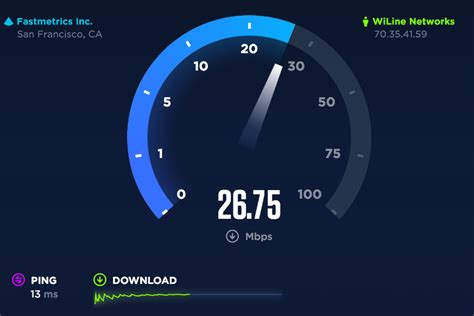 check  internet speed  dropping
