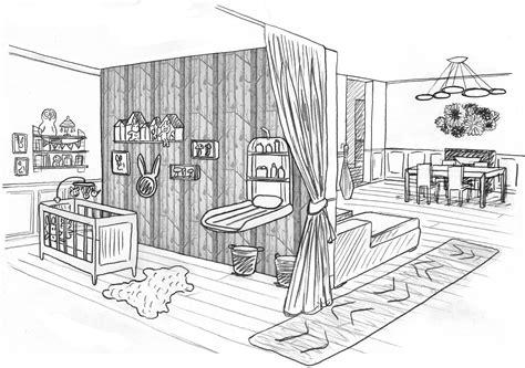 comment dessiner une chambre une chambre dessin chaios com