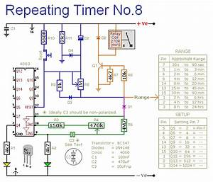 How To Build A Cmos 4060 Repeating Timer