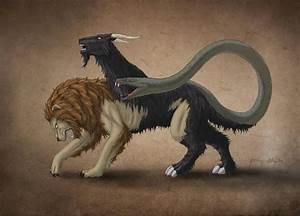 More classic Lycian Chimera. The Chimera is said to be ...