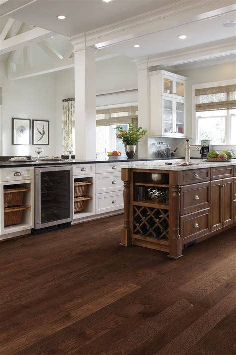 solid wood floor in kitchen solid hardwood flooring by outer banks floor covering 8163