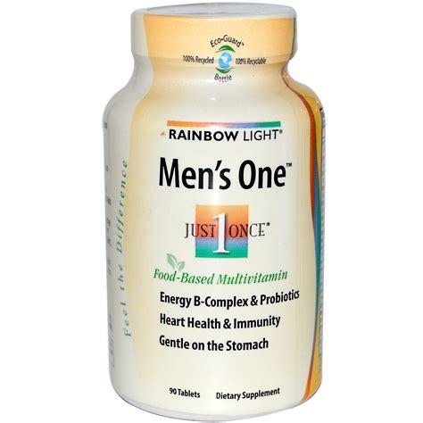 rainbow light men s multivitamin rainbow light just once men 39 s one food based
