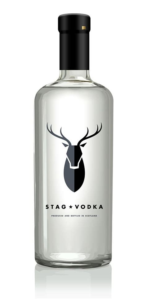 Coloring Vodka by Stag Vodka The Logo In This Bottle Is Great How There