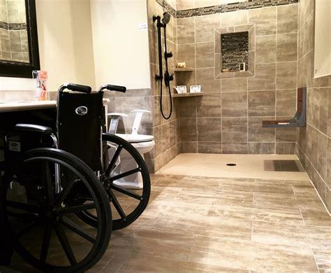 safe  accessible handicap bathroom design