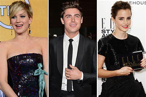 Jennifer Lawrence Zac Efron Emma Watson More