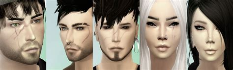 My Sims 4 Blog Scars By Onelama
