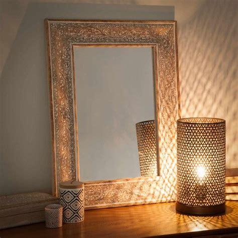 lampe  poser en metal indira maisons du monde exotique pinterest chambre cosy lampe