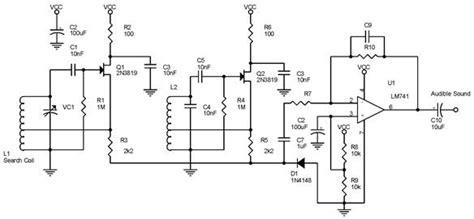 Bfo Metal Detector Beat Frequency Oscillator Auto