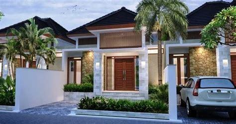 inspirasi fasad rumah minimalis  lantai  atap