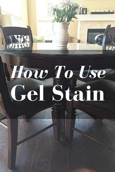 how to use gel stain on kitchen cabinets honey oak pedestal kitchen table refinished with 9845