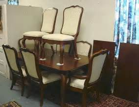 11 Dining Room Set Thomasville Impressions 11 Pc Dining Room Set Table W Two