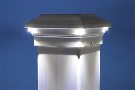 led post cap lights led light design led post cap lights low voltage led post