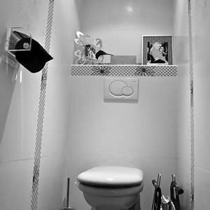 Deco Wc Gris : d co wc carrelage gris ~ Melissatoandfro.com Idées de Décoration