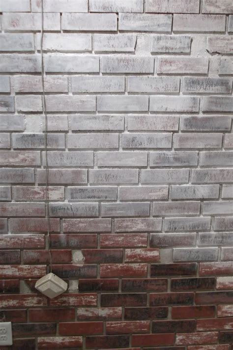 faux brick wall panels  interior lowes faux brick