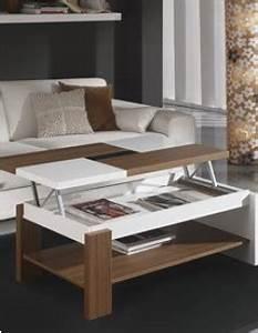 Table Basse Relevable Contemporaine FABIO Coloris Noyer