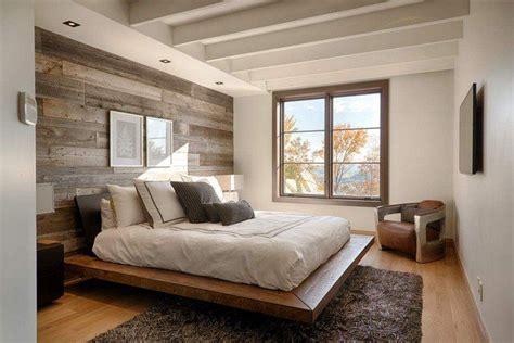 chambre avec lambris bois papier peint chambre d 39 aspect bois 30 idées magnifiques