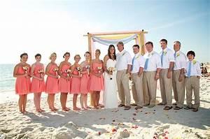 peach coral beach wedding dress for aunt carol With coral dress for beach wedding