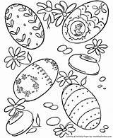 Easter Coloring Egg Eggs Hard Bunny Sheet Honkingdonkey Lots sketch template