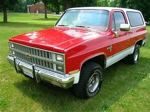 1982 K5 Chevy Blazer Red White Chevrolet 82