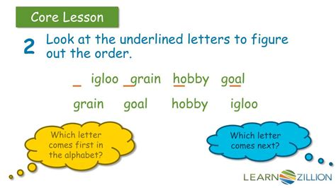 Do i say 'in alphabetical order' or 'in an alphabetical order'. PPT - How do you put words in alphabetical order? For ...
