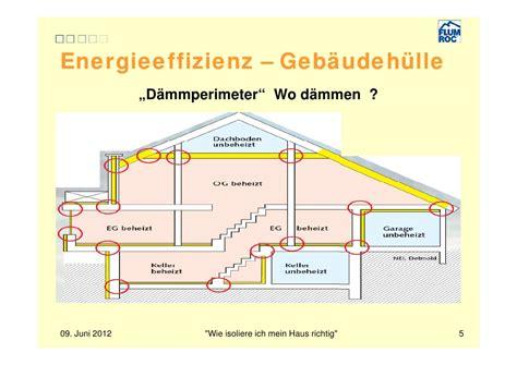 Wie Dämme Ich Ein Dach Richtig by Wie Isoliere Ich Mein Haus Richtig