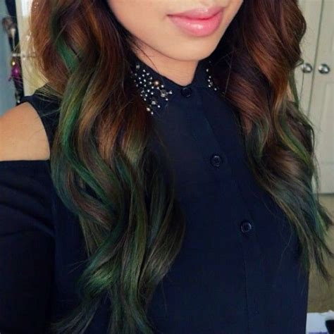 Images Of Brown Green Ombre Hair Golfclub
