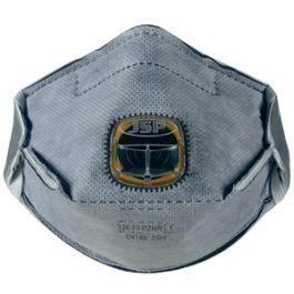 jsp typhoon horizontal fold flat ffp  typhoon odour mask