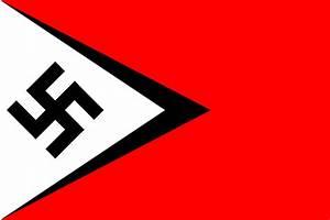 Nazi flag that I designed : vexillology