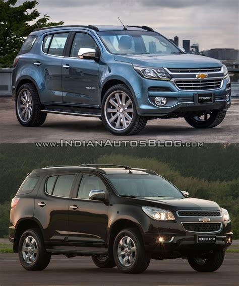 Chevrolet Model by Chevrolet Trailblazer Premier Facelift Vs Model