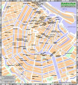 netherland coffee shops map
