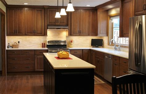 Davenport Iowa-kitchen Remodel With Wall Removed And