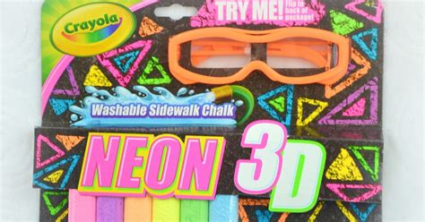 Summer Time Fun With Crayola 3d Neon