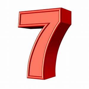Seven 7 Number Free Image On Pixabay
