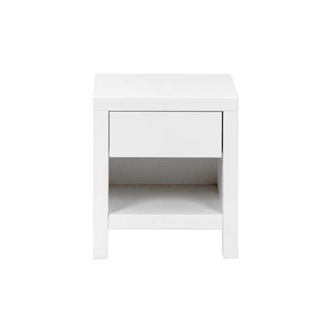 Table De Nuit Blanc by Table De Nuit Blanc Quax Pour Chambre Enfant Les