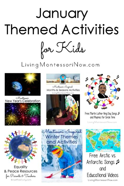 monthly themed activities archives living montessori now 170 | January Themed Activities for Kids