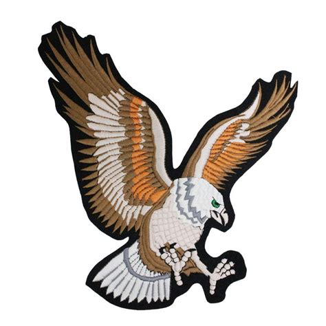 Details about Eagle Patch Embroider Large Size Mixed ...
