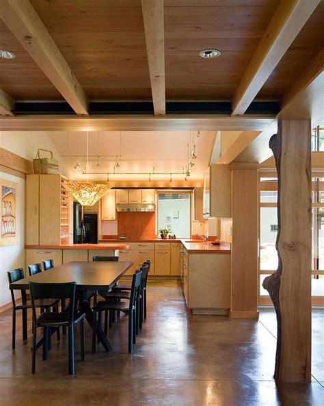 diseno de casa de campo de  piso moderna