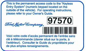 Ford F150 F250 Reprogram Door Keypad Code How To